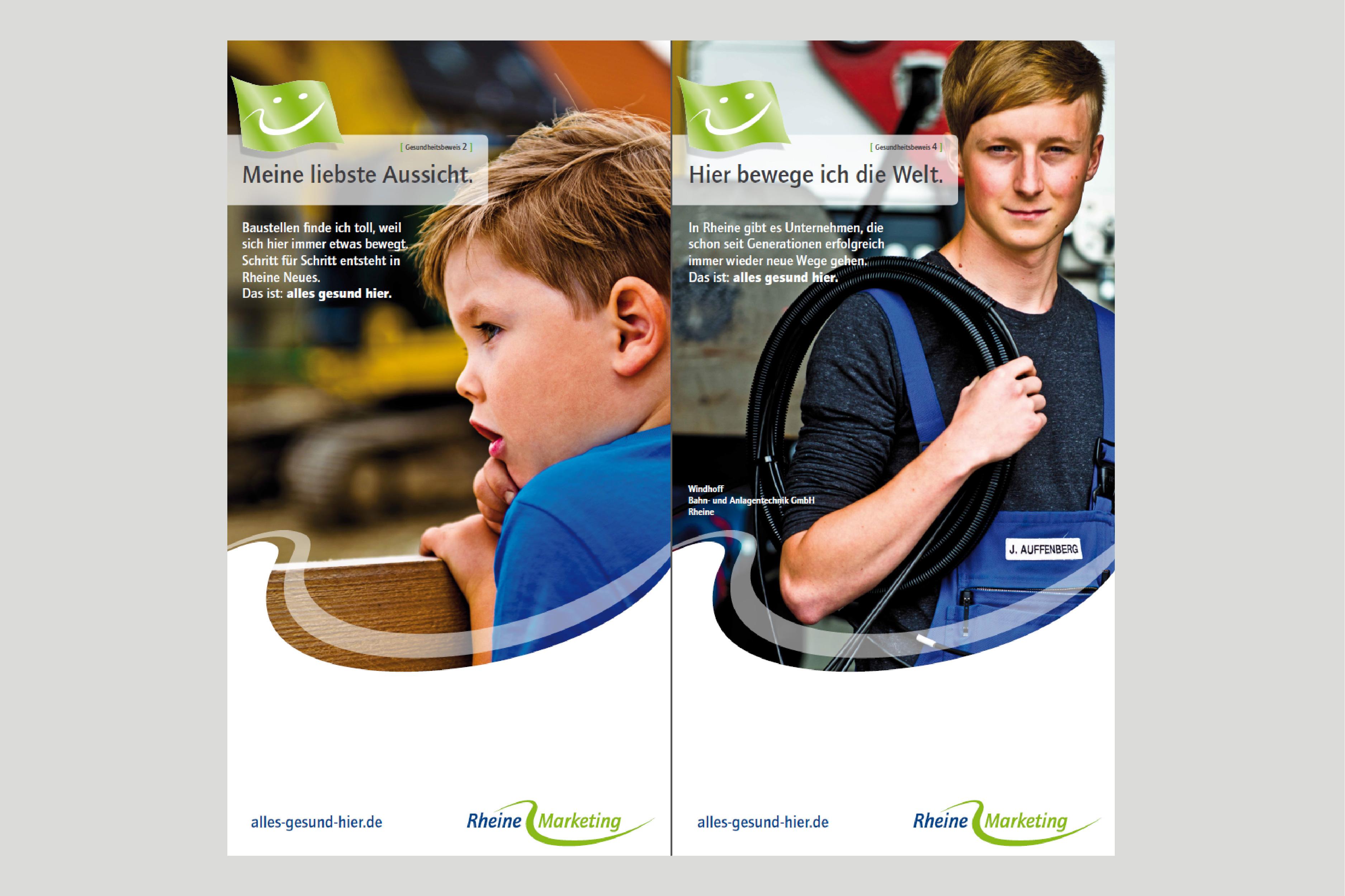Ausbildung, Rheine Marketing, alles gesund hier, Unternehmen in Rheine, Karriere, Jobs