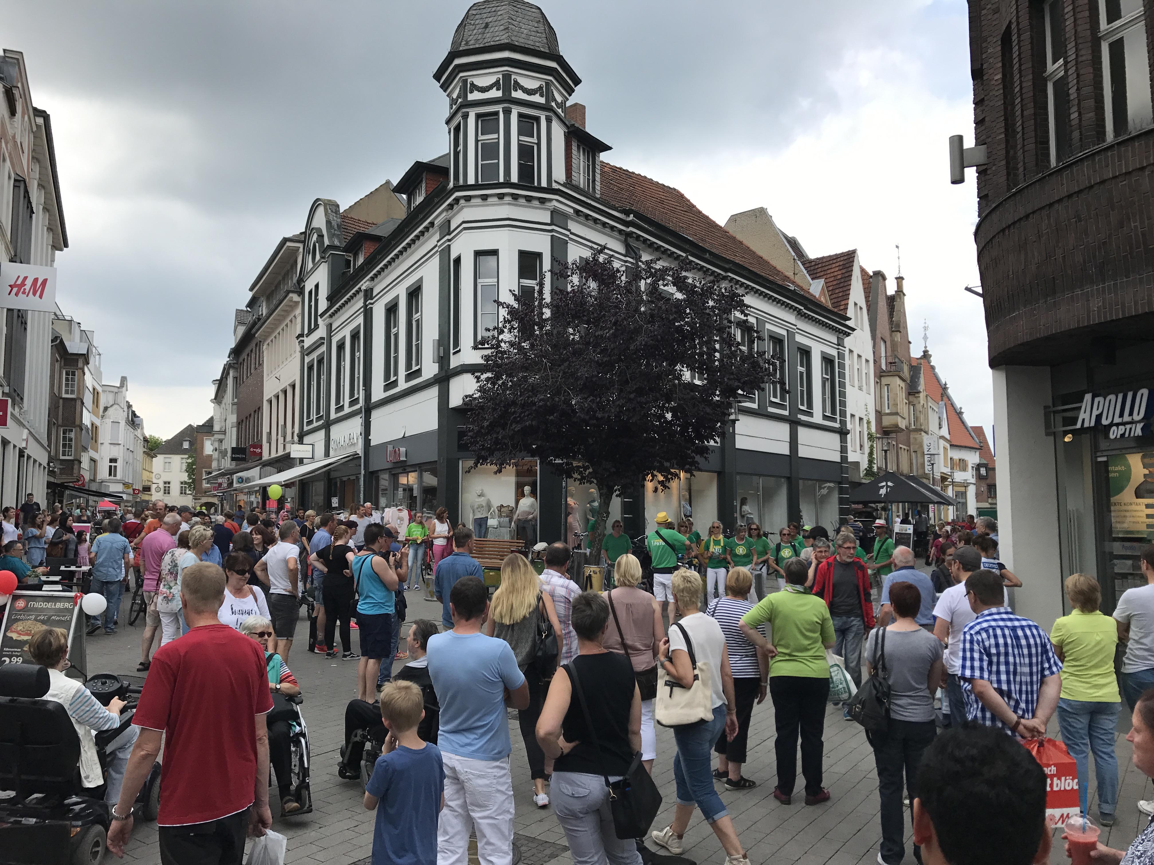 Rheine Innenstadt, Einkaufen, Shoppen, Geschäfte, Shops