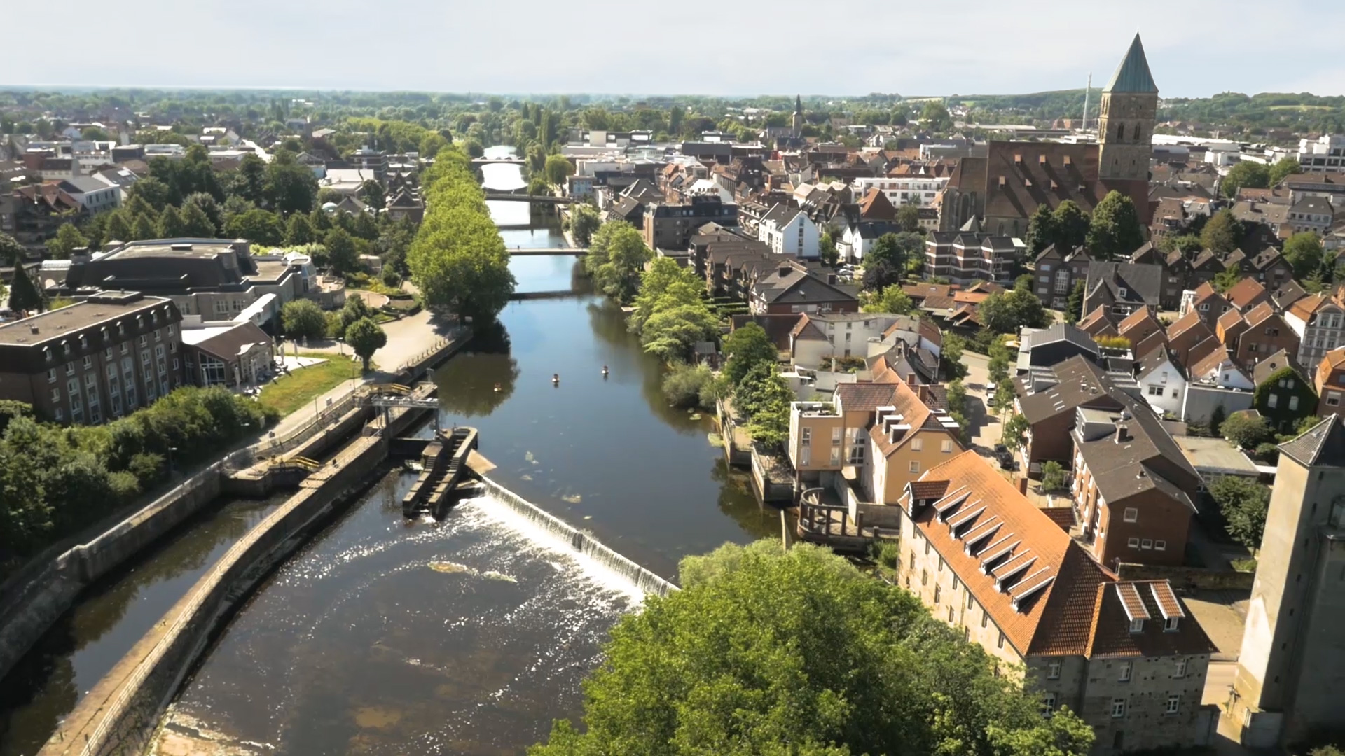 Luftaufnahme Rheine