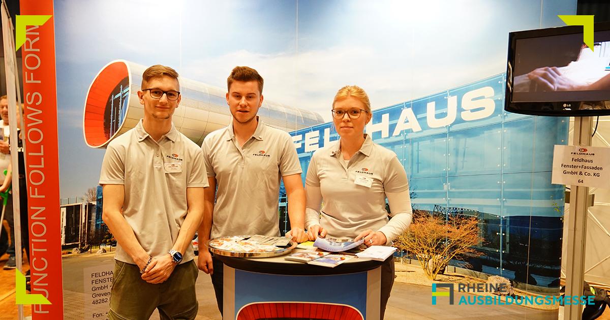 Ausbildungsmesse, Karriere, Jobs, gute Arbeitgeber, Rheine, Feldhaus