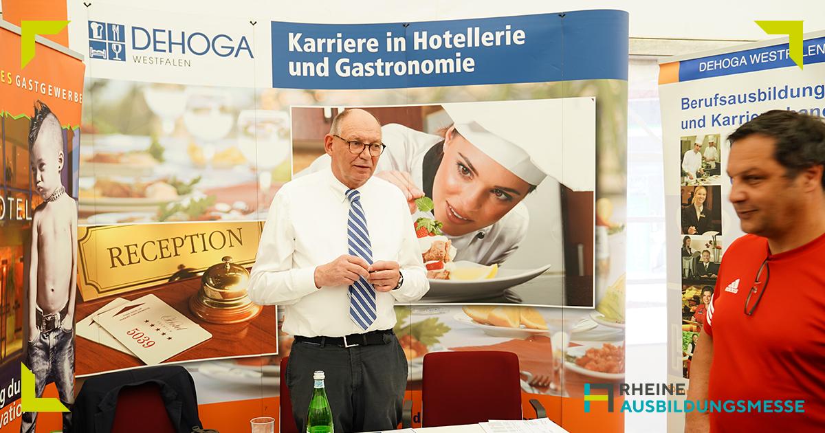Ausbildungsmesse, Karriere, Jobs, gute Arbeitgeber, Rheine, Stadthalle