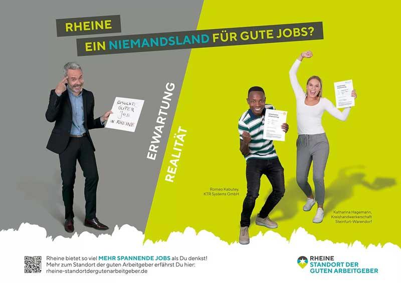 EWG Kampagne, gute Jobs in Rheine, Ausbildung, Karriere, Arbeitgeber, Geld verdienen, Standort der guten Arbeitgeber, Beruf, Vollzeitstelle Rheine