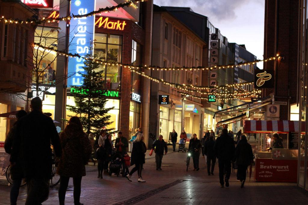 Innenstadt Weihnachten Nikolaus
